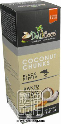 Coconut Chunks (Black Pepper)