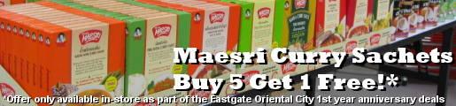 Maesri Sachets Buy 5 Get 1 Free!