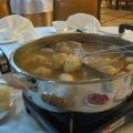 Simmering hotpot