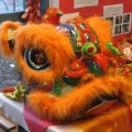 Chinese New Year Lion Dance Costume