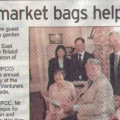 UPCC Donation, Evening Post - July 2009