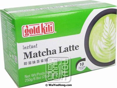 Gold Kili Matcha Latte