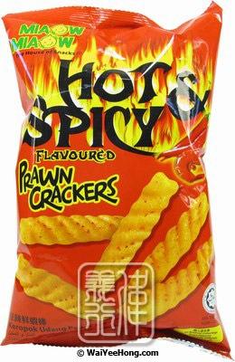 Miaow Miaow Hot & Spicy Prawn Crackers