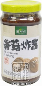 Mushroom Zhajiang Paste