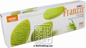 Franzzi Green Tea Cookies (Matcha)