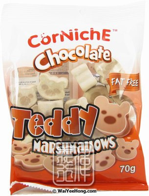 Corniche Teddy Marshmallows (Chocolate)
