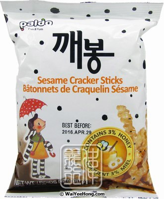 Paldo Sesame Cracker Sticks