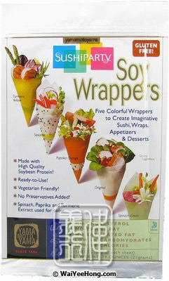 SushiParty Soy Wrappers