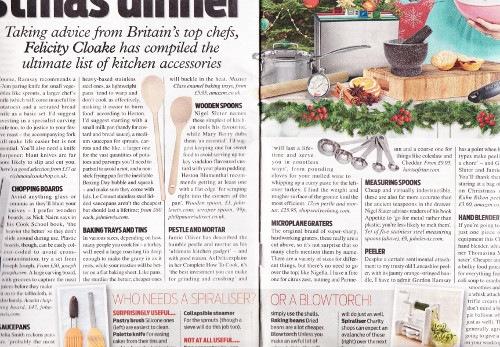Daily Mail Weekend Magazine Dec 2015