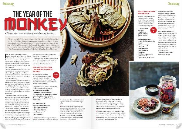 Food Lover Magazine January 2016