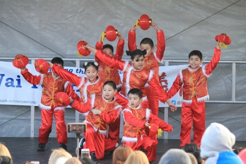 Chinese New Year Dancers