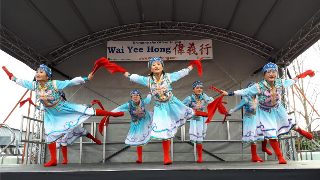 Chinese New Year Performers